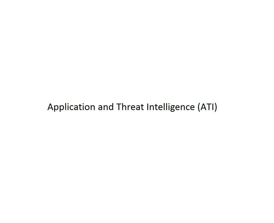 Application and Threat Intelligence (ATI)