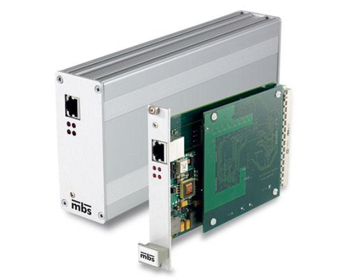 Discrete I/O Interface to Gigabit Ethernet